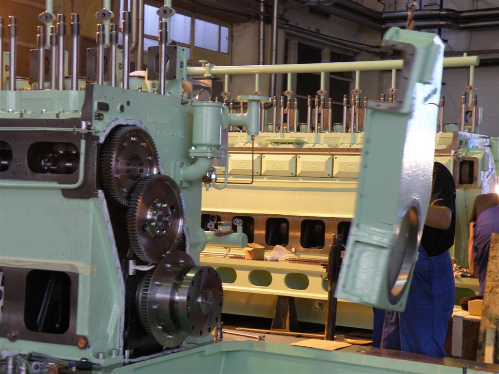 Adriadiesel Dd General Information Sulzer Engine Diagram Title