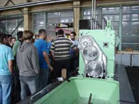Adriadiesel d.d. web pages :: Visit of students from the Faculty of Mechanical Engineering and Naval Architecture